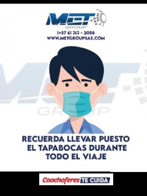 MET GROUP APORTANDO A LA REACTIVACION DEL TRANSPORTE ESPECIAL, INTERMUNICIPAL Y URBANO